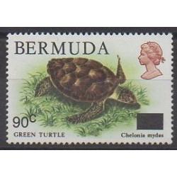 Bermuda - 1986 - Nb 497 - Reptils