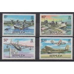 Bermuda - 1987 - Nb 512/515 - Planes