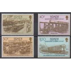 Bermudes - 1987 - No 498/501 - Chemins de fer