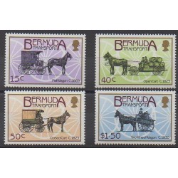 Bermudes - 1988 - No 520/523 - Transports