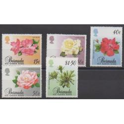 Bermudes - 1988 - No 524/528 - Roses