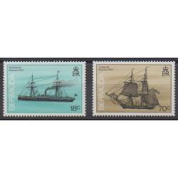 Bermuda - 1988 - Nb 533/534 - Boats
