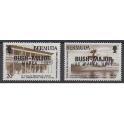 Bermuda - 1991 - Nb 598/599 - Various Historics Themes