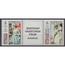 Bermudes - 1991 - No 604/605 - Royauté - Principauté