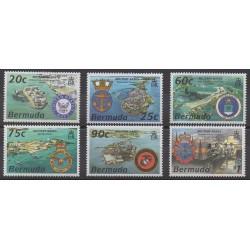 Bermudes - 1995 - No 696/701 - Histoire militaire