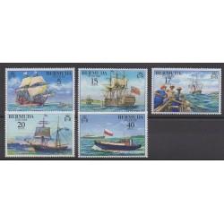Bermudes - 1977 - No 343/347 - Navigation
