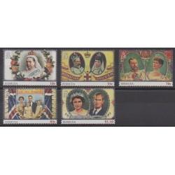 Bermuda - 2013 - Nb 1049/1053 - Royalty