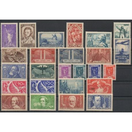 France - 1936 - No 309/333