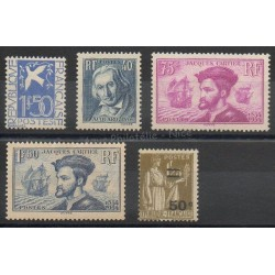 France - année complète - 1934 - No 294/298