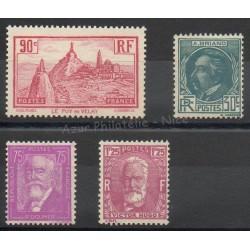 France - année complète - 1933 - No 290/293