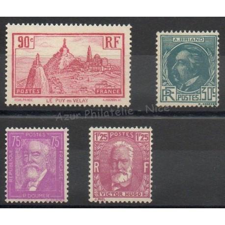 France - 1933 - Nb 290/293