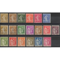 France - 1932 - Nb 277A/289