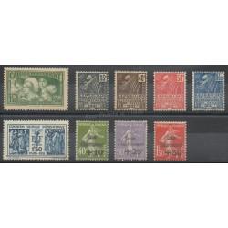 France - année complète - 1931 - No 269/277