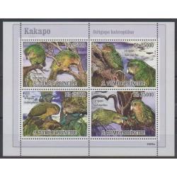 Saint-Thomas et Prince - 2009 - No 3004/3007 - Oiseaux