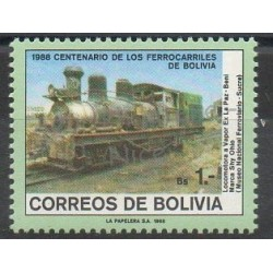 Bolivie - 1988 - No 714 - Trains