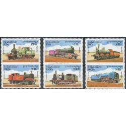 Cambodia - 1997 - Nb 1434/1439 - Trains