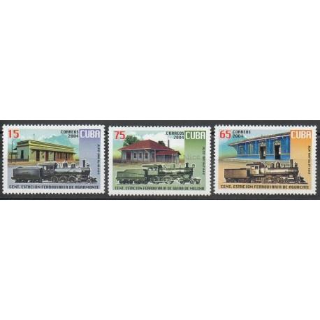 Cuba - 2007 - No 4199/4201 - Trains