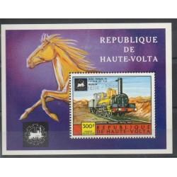Haute-Volta - 1975 - No BF 5AC - Trains