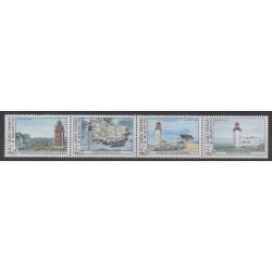 Saint-Pierre et Miquelon - 1992 - No 563/566 - Phares