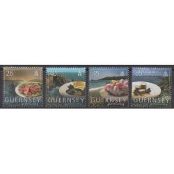 Guernsey - 2005 - Nb 1056/1059 - Gastronomy