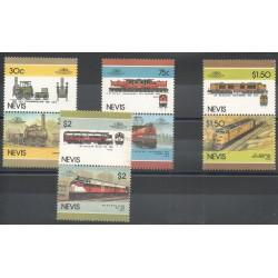 Nevis - 1986 - No 353/360 - Trains