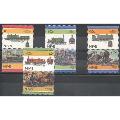 Nevis - 1985 - No 279/286 - Trains