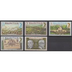 Maurice - 1989 - Nb 712/716 - Various Historics Themes
