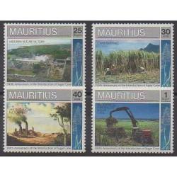 Maurice - 1990 - Nb 731/734 - Craft