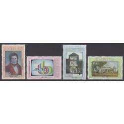 Maurice - 1990 - Nb 740/743 - Various Historics Themes