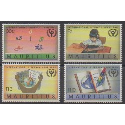 Maurice - 1990 - No 744/747 - Littérature