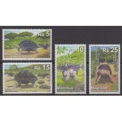 Maurice - 2009 - No 1105/1108 - Reptiles