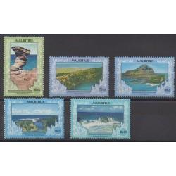 Maurice - 1991 - Nb 760/764 - Environment