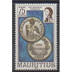 Maurice - 1985 - No 645 - Monnaies, billets ou médailles