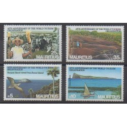 Maurice - 1985 - Nb 635/638 - Tourism