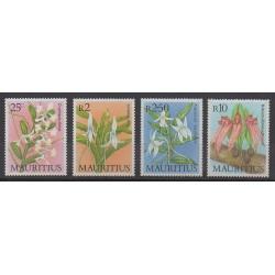 Maurice - 1986 - No 659/662 - Orchidées