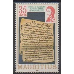 Maurice - 1986 - No 663 - Histoire