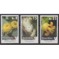 Maurice - 2010 - No 1115/1117 - Fleurs