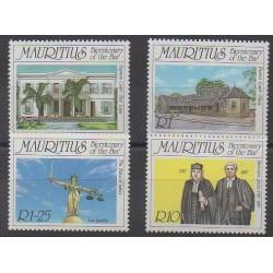 Maurice - 1987 - Nb 672/675 - Various Historics Themes