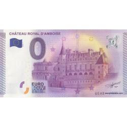 Billet souvenir - Château royal d'Amboise - 2015