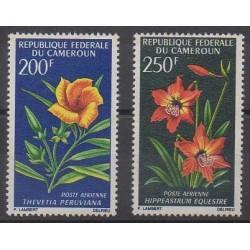 Cameroun - 1967 - No PA99/PA100 - Fleurs
