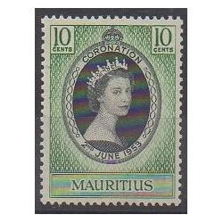 Maurice - 1953 - No 240 - Royauté - Principauté