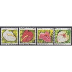 Maurice - 2004 - No 1036/1039 - Fleurs