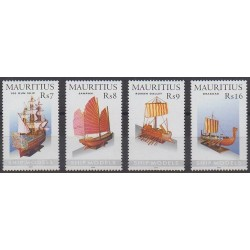 Maurice - 2005 - Nb 1051/1054 - Boats