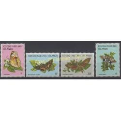 Cocos (Island) - 1982 - Nb 86/89 - Butterflies