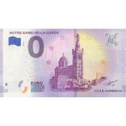 Euro banknote memory - 13 - Notre-Dame-de-la-Garde - 2018-4