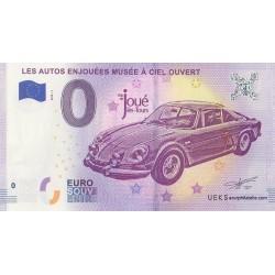 Euro banknote memory - 37 - Les autos enjouées - Musée à ciel ouvert - 2018-1