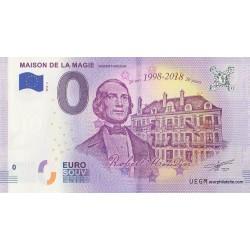 Euro banknote memory - 41 - Maison de la Magie - 2018-2