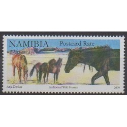 Namibie - 2009 - No 1188A - Chevaux