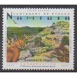Namibie - 2010 - No 1109a - Espèces menacées - WWF