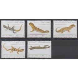 Namibie - 2009 - No 1189/1193 - Reptiles
